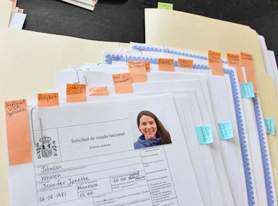 Пакет документов для получения визы в Испанию