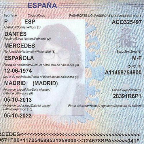 Паспортные данные и подтверждающие родство бумаги члена семьи, который является гражданином ЕС, ЕЭЗ или Швейцарии
