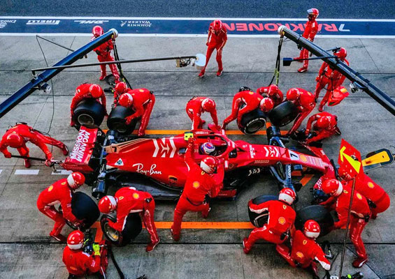Pit-stop Record