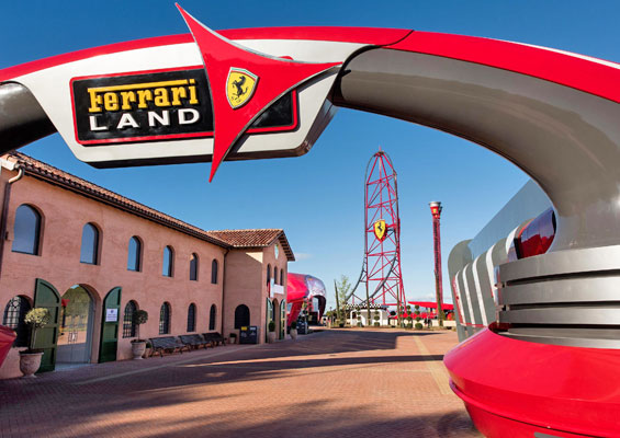 Port Aventura Ferrari Land