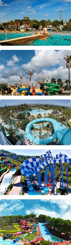 Аквапарки в Испании