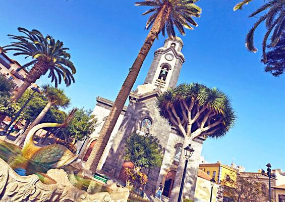 Церковь на острове Тенерифе