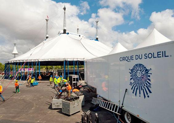 Cirque du Soleil в Port Aventura