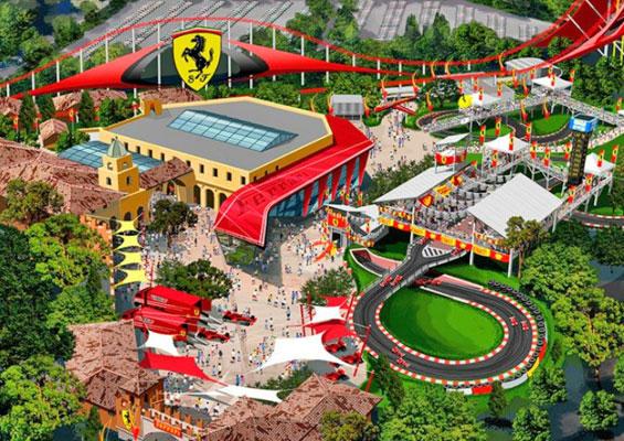 Ferrari Land в Port Aventura