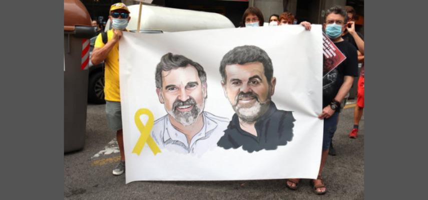 Каталонские активисты