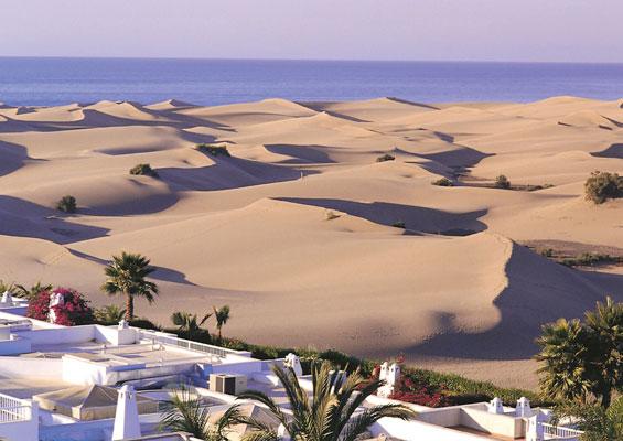 Песчаные дюны на Гран-Канария