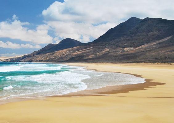Пляж на Фуэртевентура