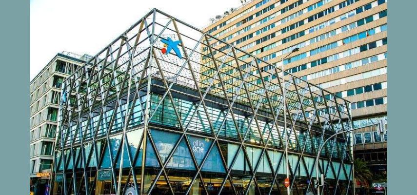 CaixaBank открывает свой первый мега-офис