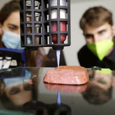 Novameat использует 3D-технологию