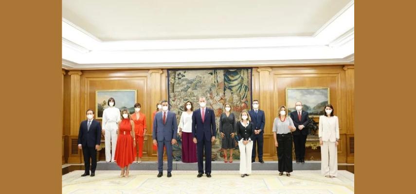 Новые министры принесли присягу перед королем Фелипе