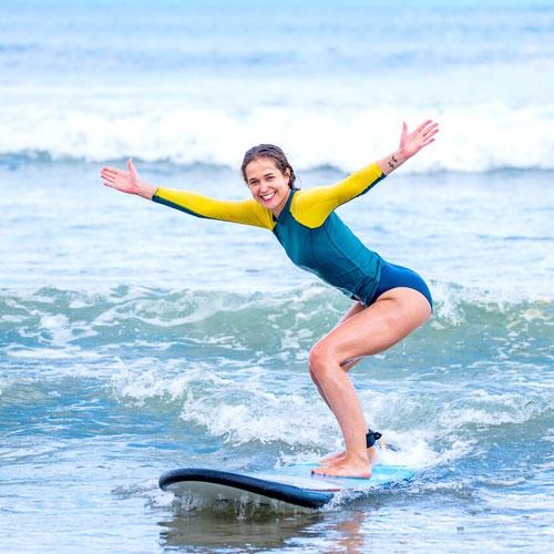 Серфинг на большой доске Soft Top