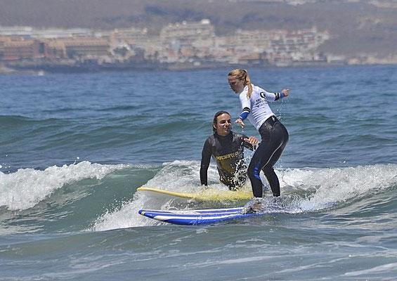 Серфинг на Тенерифе для опытных серферов