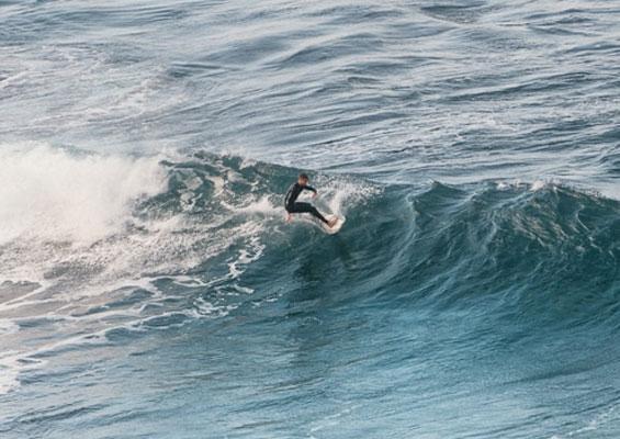 Серфинг в La Izquierda