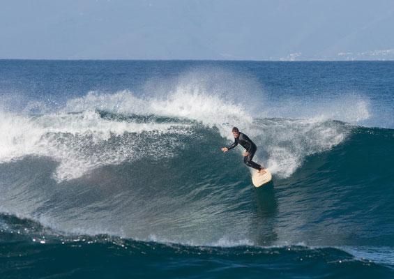 Серфингист на La Izquierda