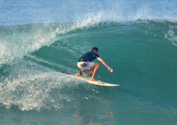 Серфингист в Эль-Медано