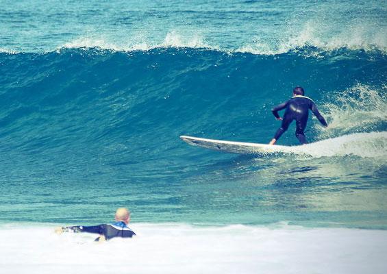 Серфингисты в Эль-Медано