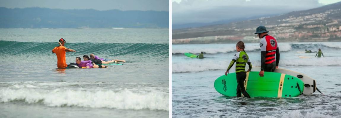Школа серфинга на Тенерифе