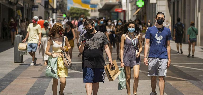 Заболеваемость Covid в Испании снижается