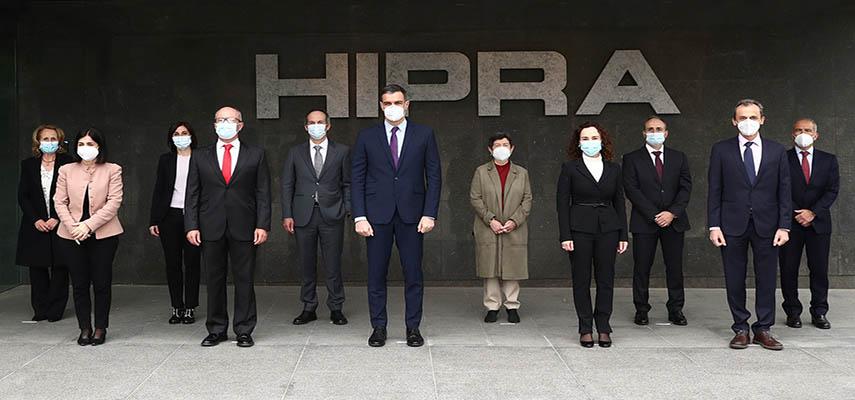 Hipra начала тестировать свою вакцину против Covid-19 на добровольцах в Испании