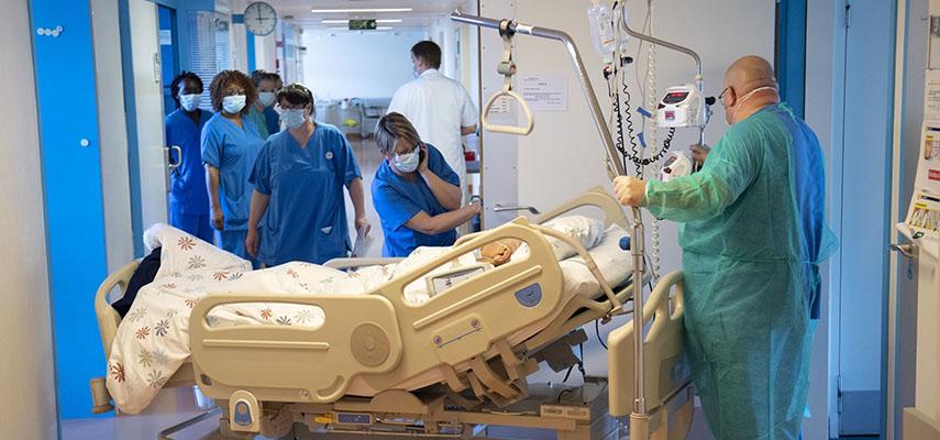 В Валенсии 90% пациентов ОИТ не были полностью вакцинированы