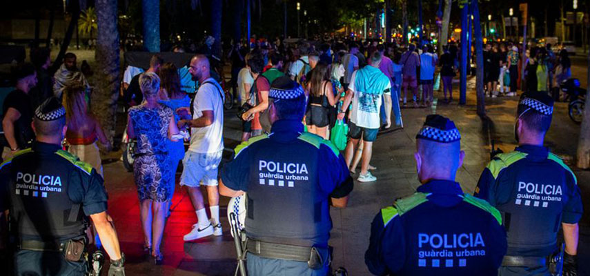 Ночной комендантский час на большей части территории Каталонии отменен верховным судом