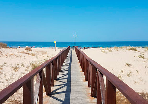 Дорога на пляж Кортадура