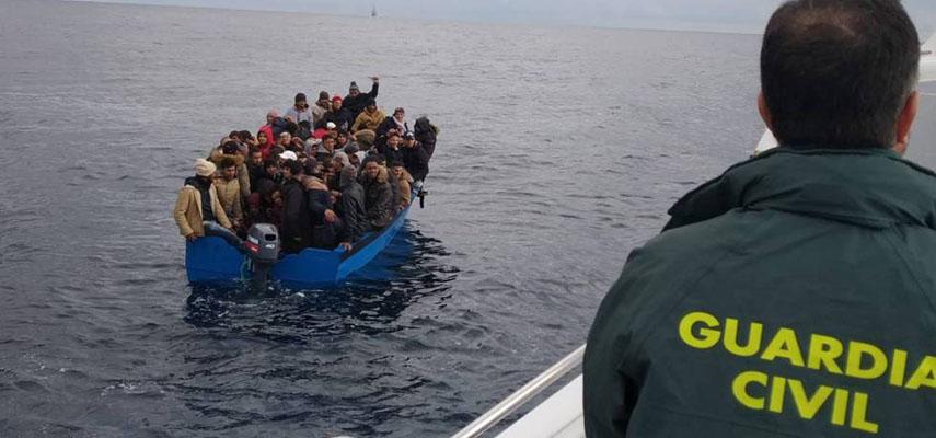 Нелегальные иммигранты из Алжира