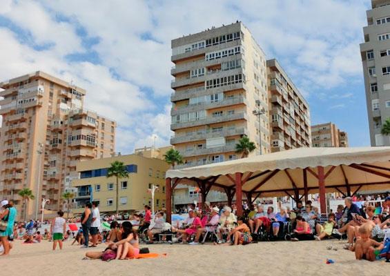 На пляже Кортадура