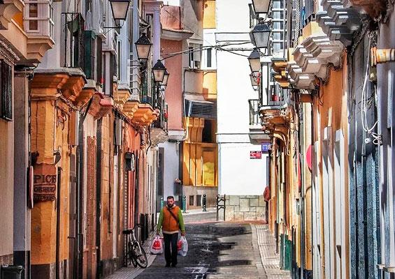 Улица квартала Баррио-дель-Популо