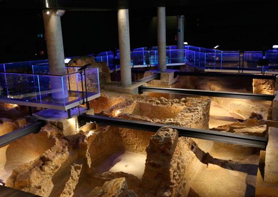 В археологическом музее «Гадир»