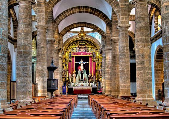 В Кафедральном соборе Санта-Крус