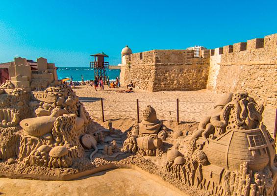 В крепости Сан-Себастьян в Кадисе