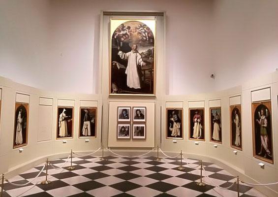 В музее Кадиса на площади Plaza de Mina