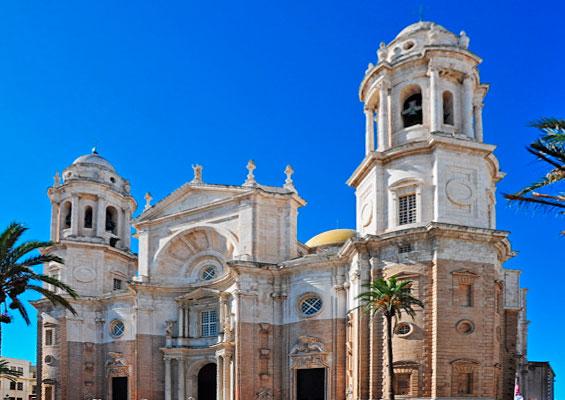 Вид на Кафедральный собор Санта-Крус