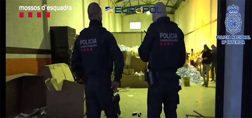 Крупный удар нанесен по албанской наркомафии в Испании