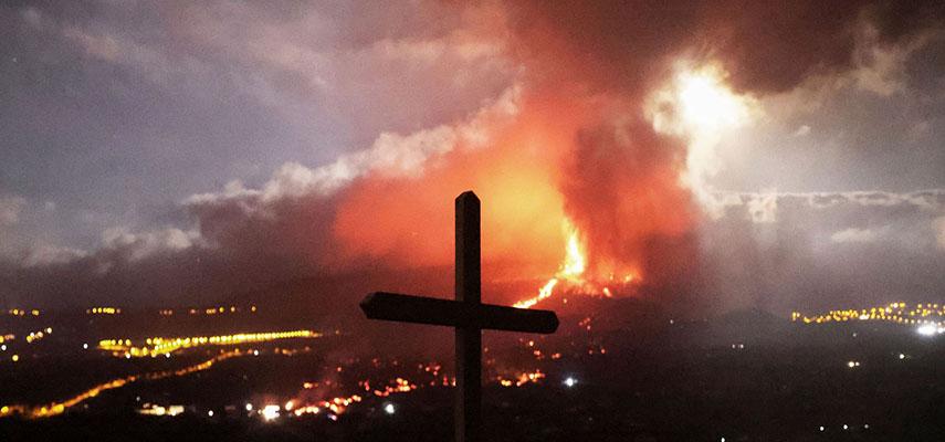 Потоки лавы на Ла-Пальма залили около 154 гектаров земли и разрушили 320 домов