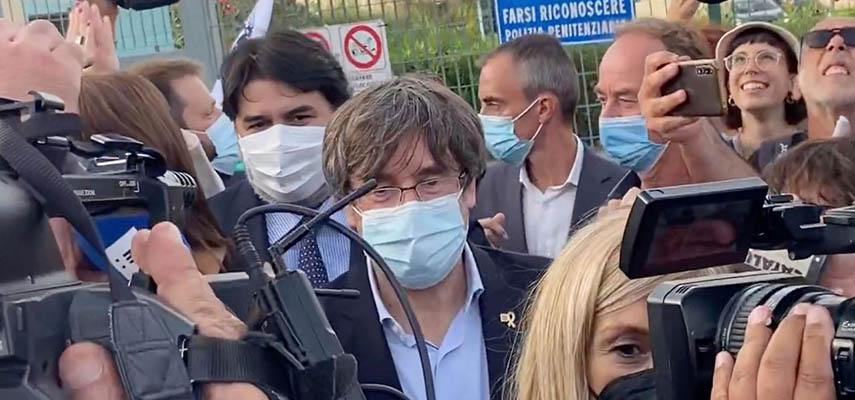 Политик бежал из Испании, чтобы избежать ареста за свою роль в попытке отделения Каталонии