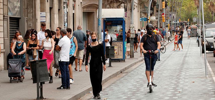 Большинство сообществ в Испании подвержены среднему риску заражения Covid-19
