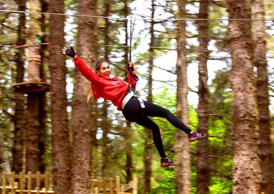 Активный отдых в Forestal Park