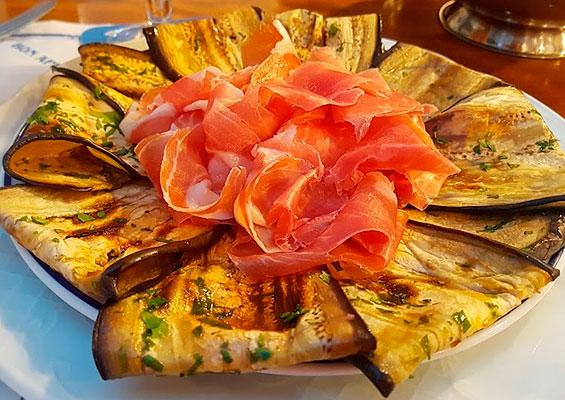 Блюдо в Pizzería Rugantino
