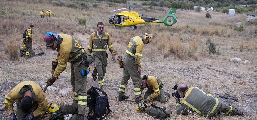 Сильный пожар уничтожил не менее 7400 гектаров лесных угодий, эвакуировано 3000 человек, один человек погиб