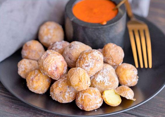 Картошка по-канарски «Папас Арругадас»