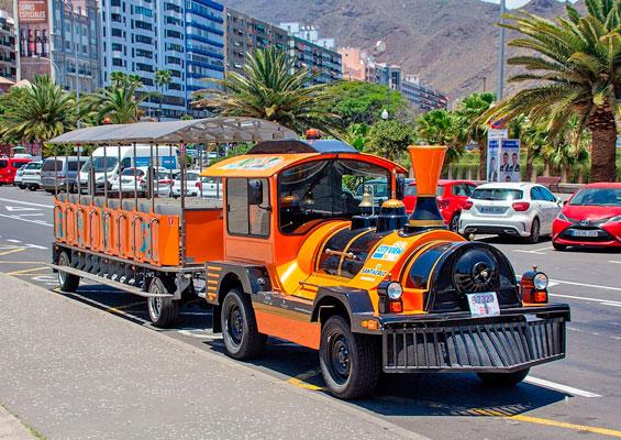 Катание на паровозах в Санта-Крус-де-Тенерифе