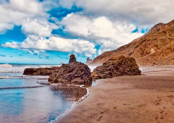 На пляже Бенихо