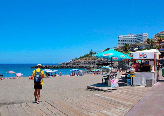 На пляже Эль Бобо