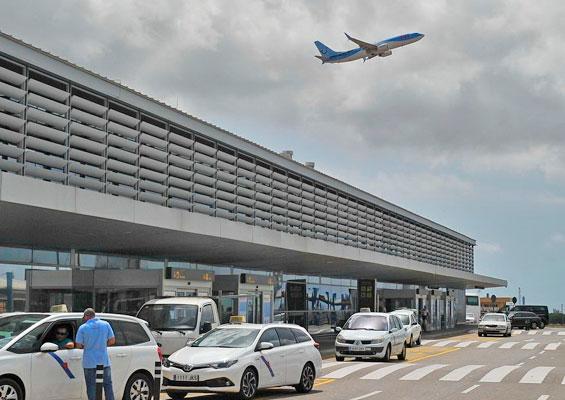 На самолете в PortAventura Park