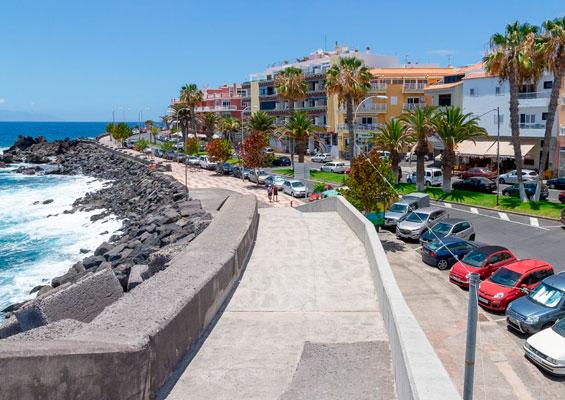 Набережная пляжа Сан Хуан