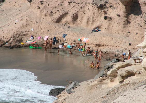 Отдыхающие на пляже Диего Эрнандес