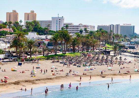 Отдыхающие на пляже Эль Бобо
