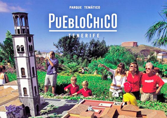 Парк миниатюр Pueblo Chico на Тенерифе